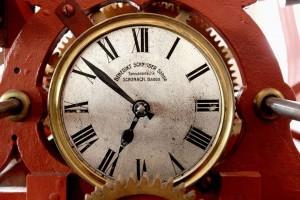 Reloj en el social media