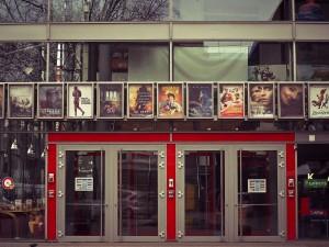 puerta de cine