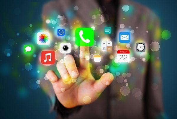 subir y bajar apps