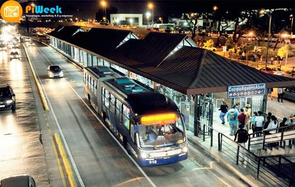 Metrovia gestionada por Eurofinsa en Ecuador