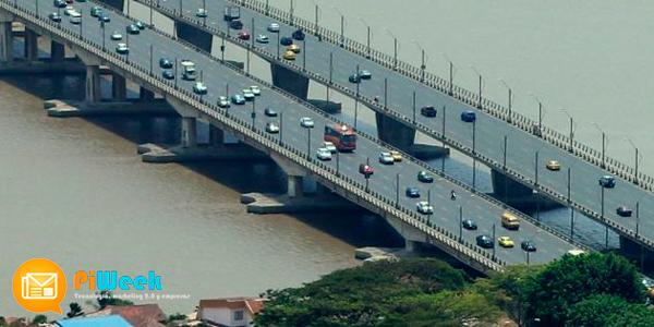 eurofinsa contruye puente entre para unir guayaquil y samborondon