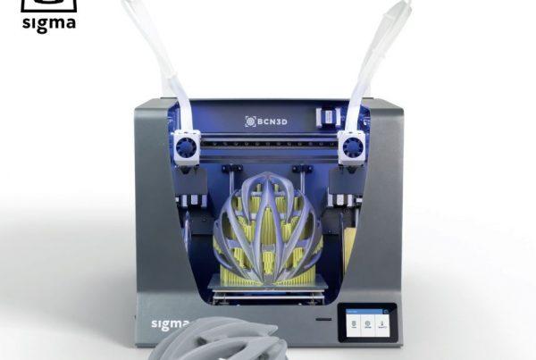 Sistema de impresión en 3D Sigma R19 de Mastertec