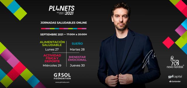 Pau Gasol, a través de la Gasol Foundation, anuncia la celebración de la segunda edición del congreso solidario internacional PL4NETS